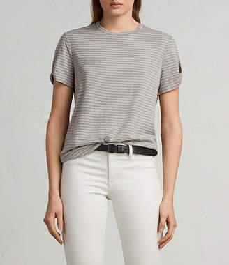 AllSaints Mazzy Stripe T-Shirt