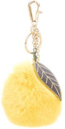 Dolce & GabbanaDolce & Gabbana Lemon Fur Bag Charm