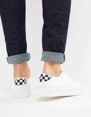 Pull&Bear Sneaker With Checker Board Detail