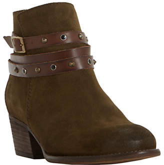 Bertie Prynceton Block Heeled Ankle Boots