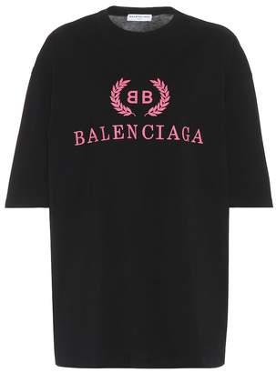 Balenciaga (バレンシアガ) - Balenciaga BB cotton T-shirt