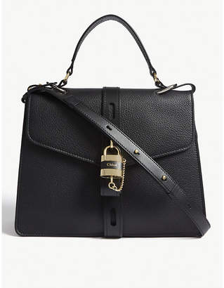 Chloé Aby large leather satchel bag