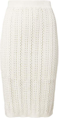 Intermix Adelina Crochet Knit Skirt