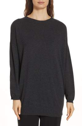 Eileen Fisher Cashmere Tunic Sweater