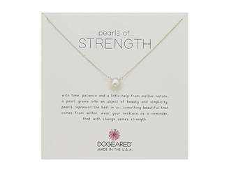 Dogeared Pearls Of Strength Necklace