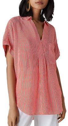 Whistles Lea Striped Shirt