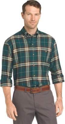 Arrow Men's Saranac Regular-Fit Plaid Flannel Button-Down Shirt