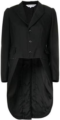Comme des Garcons high low tuxedo jacket