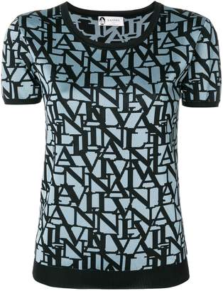 Lanvin monogram print jumper