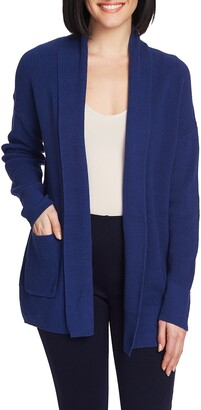 Chaus Open Front Long Cardigan
