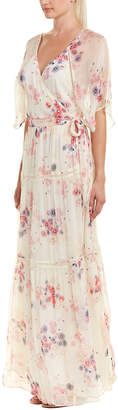 Love Sam Lily Maxi Wrap Dress