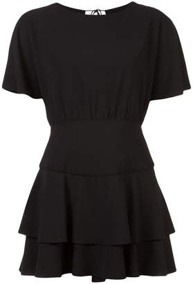 Alice + Olivia Alice+Olivia Palmira ruffled dress