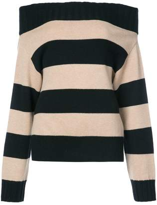 Schumacher Dorothee striped longsleeved knitted top
