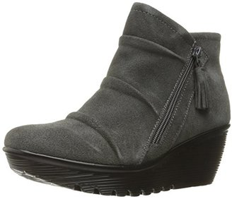 Skechers Women's Parallel-Triple Threat Ankle Bootie $67.08 thestylecure.com