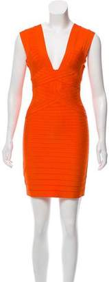 Herve Leger Deryn Bandage Dress