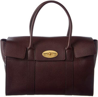 Mulberry New Bayswater Leather Satchel