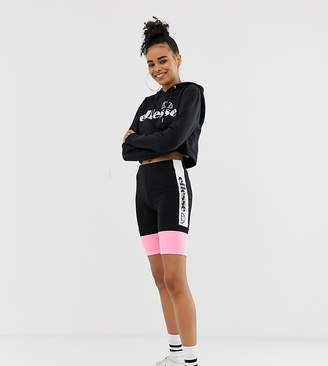 375c6499c46 Ellesse legging shorts with side logo in pastel colour block