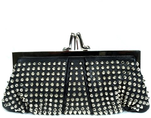 Christian Louboutin Studded Clutch Accessories
