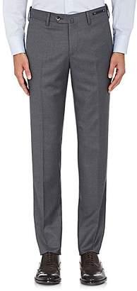 Pt01 Men's Wool Twill Super-Slim Trousers - Gray