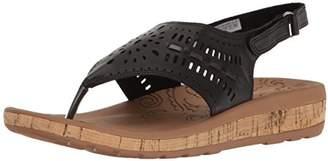 Rockport Women's Keona Perf Sling Platform Sandal
