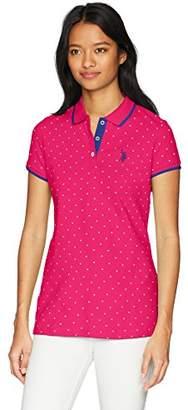 U.S. Polo Assn. Women's Stretch Pique Shirt