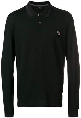 Paul Smith longsleeved polo shirt