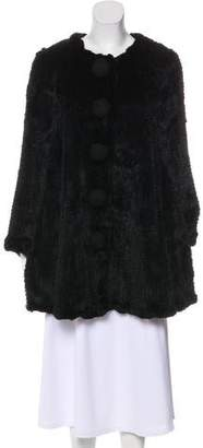 Manoush Knee-Length Fur Coat