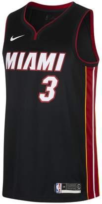 Nike Dwyane Wade Icon Edition Swingman Jersey (Miami Heat) Men's NBA Connected Jersey