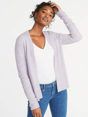 Old Navy Plush-Knit Open-Front Sweater for Women