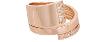 Effy Fine Jewelry 14K Rose Gold 0.21 Ct. Tw. Diamond Ring