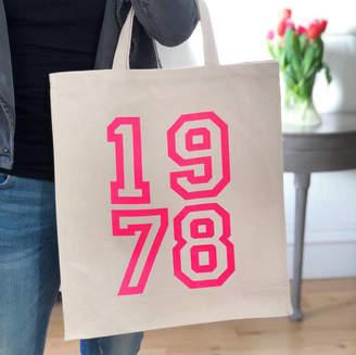 Modo creative 1978 Pink Neon Canvas Bag