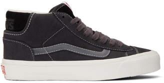 aeea0ae9816 Vans Black OG Mid Skool Lx Sneakers