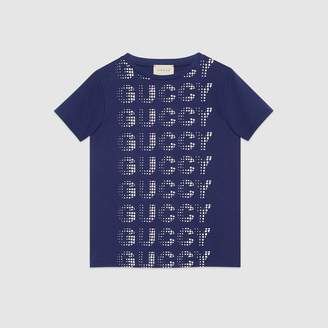 Gucci Children's T-shirt with Guccy print