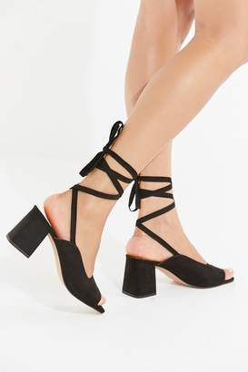 Urban Outfitters Maggie Lace-Up Heel
