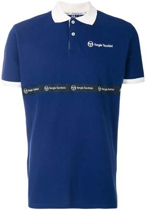 Sergio Tacchini original logo polo shirt