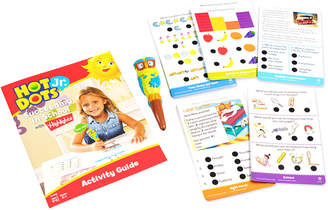 Educational Insights Hot Dots Jr. Succeeding In School Set With Highlighers