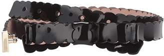 Kate Spade 3/4 Scalloped Patent Bow Belt