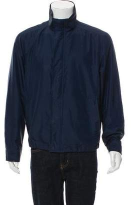 Burberry Logo Woven Jacket