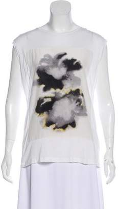 AllSaints Printed Sleeveless Top