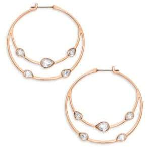 6f50c8fc6 Swarovski Gaze Teardrop Crystal Hoop Earrings