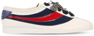 Gucci 10mm Falacer Patent Leather Sneakers