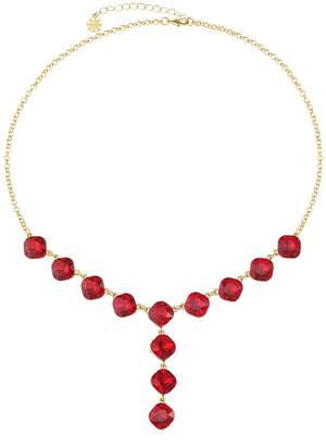 MONET JEWELRY Monet Jewelry Womens Red Y Necklace