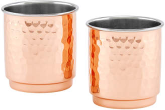 Old Dutch International 2-Ply Whiskey Tumblers, Set of 2