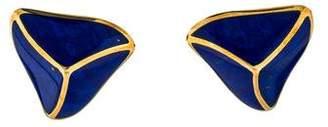 Lapis Angela Cummings 18K Lazuli Earrings