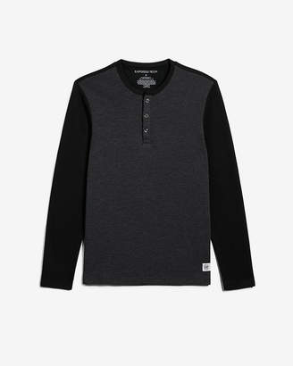 Express Brushed Performance Air Mesh Henley
