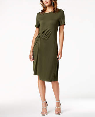 Rachel Roy Draped-Front Dress, Created for Macy's