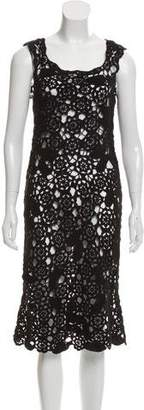 Marc by Marc Jacobs Crochet Midi Dress