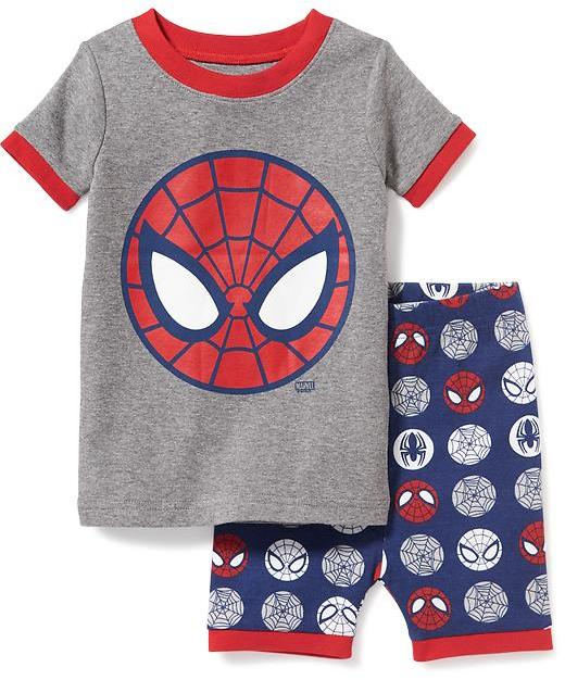 Marvel Comics Spiderman Sleep Set for Toddler & Baby