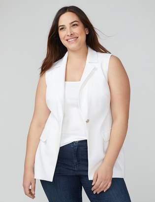 Lace-Back Vest