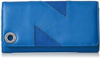 Nautica Banyan II Womens RFID Blocking Wallet Clutch Organizer With Removable ID Card Carrier